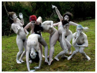 Butoh dancing, mind-control