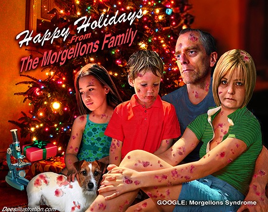 Morgellons Family by David Dees